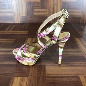 JESSICA SIMPSON Blairee2 Multi Watercolor Sandal